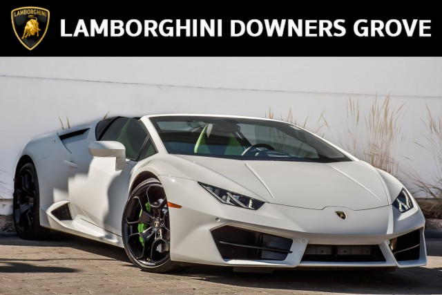 Pre-Owned 2017 Lamborghini Huracan LP 580-2 Spyder With Navigation