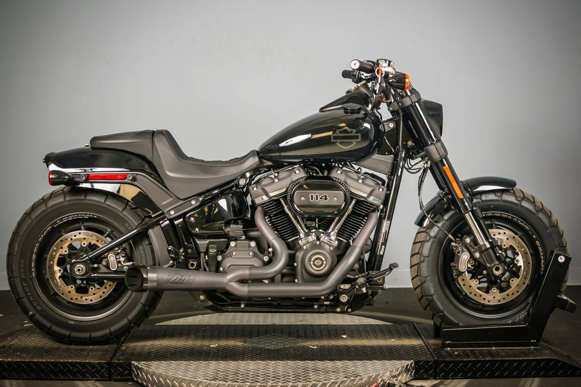 Pre-Owned 2020 Harley-Davidson Softail Fat Bob 114 FXFBS