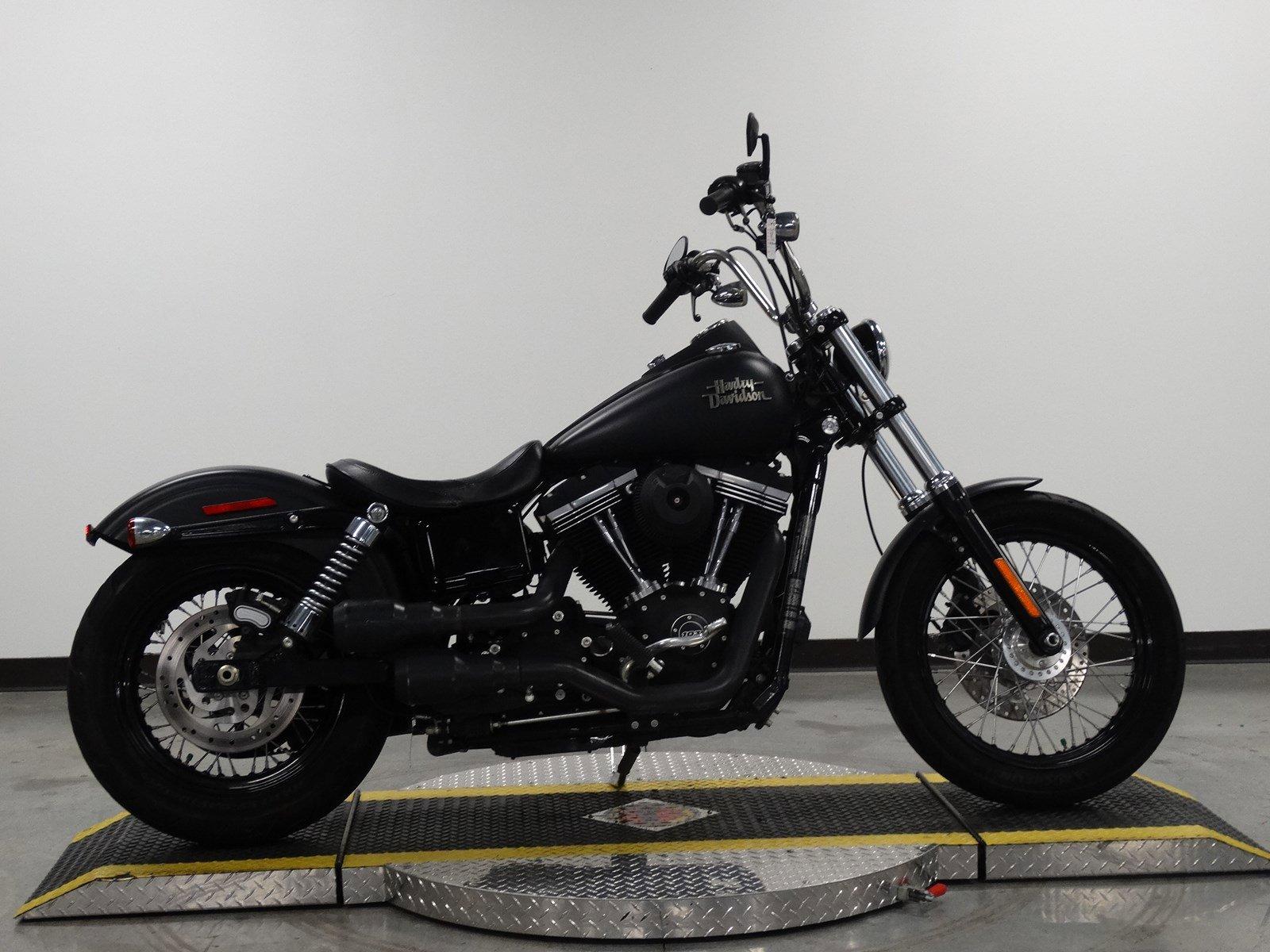 Pre-Owned 2015 Harley-Davidson Dyna Street Bob FXDB