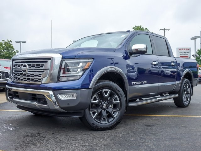 Certified Pre-Owned 2020 Nissan Titan Platinum Reserve