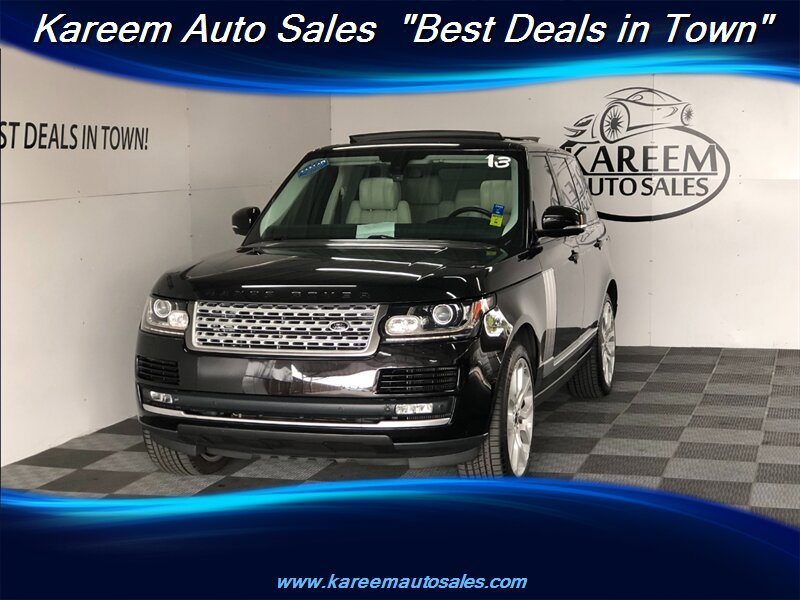 Pre-Owned 2013 Land Rover Range Rover SC