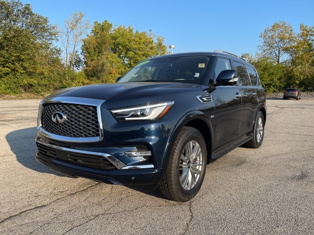 Certified Pre-Owned 2018 INFINITI QX80 Driver's Assistance