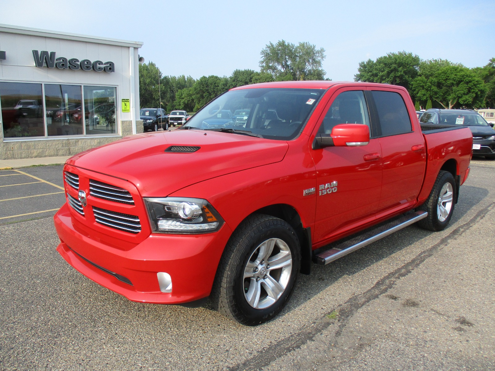 Used 2017 RAM Ram 1500 Pickup Sport with VIN 1C6RR7MT2HS673826 for sale in Waseca, Minnesota