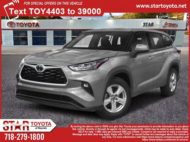 New 2021 Toyota Highlander LE AWD (Natl)