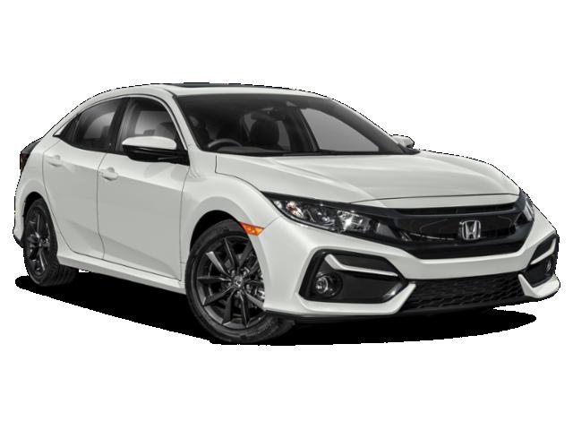 New 2021 Honda Civic Hatchback EX CVT FWD