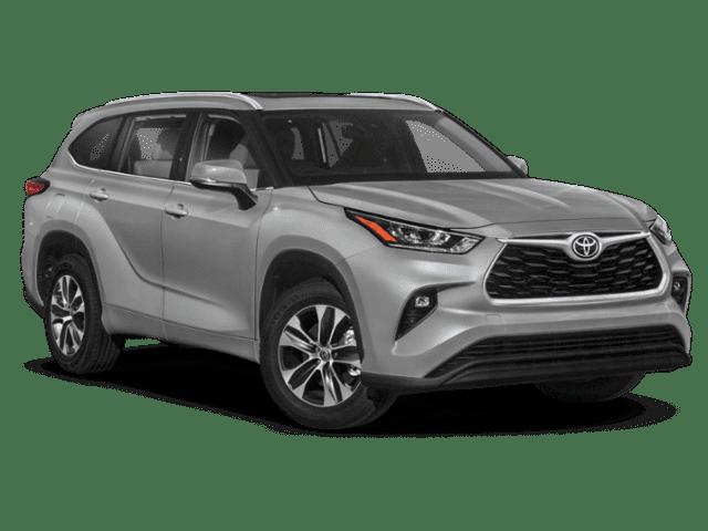 New 2022 Toyota Highlander XLE AWD SUV V6