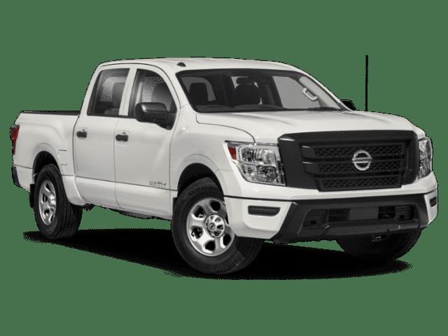 New 2021 Nissan Titan 4x2 Crew Cab S