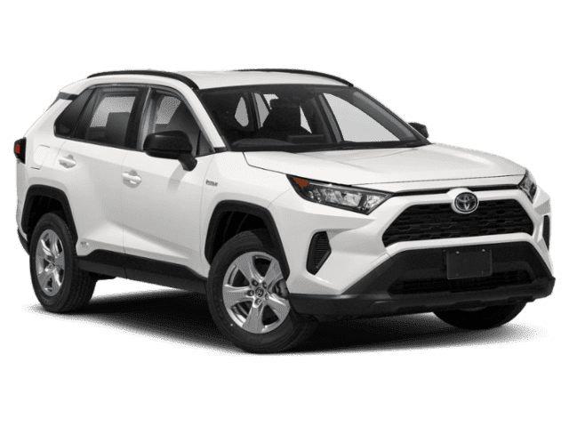 New 2021 Toyota RAV4 Hybrid LE