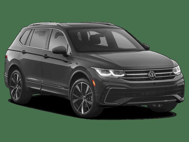 New 2022 Volkswagen Tiguan 2.0T SE R-Line Black