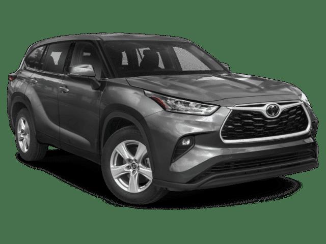 New 2021 Toyota Highlander L