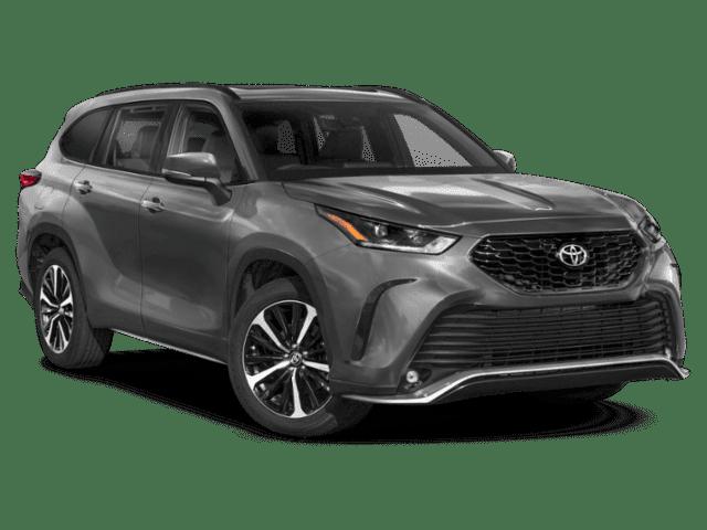 New 2022 Toyota Highlander XSE V6 AWD