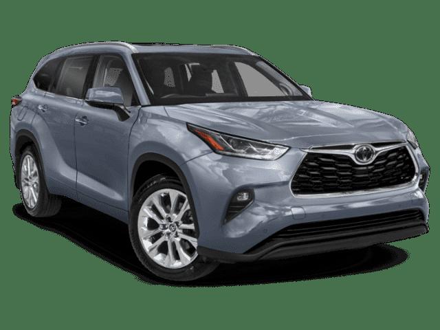 New 2022 Toyota Highlander LTD AWD SUV V6