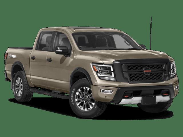 New 2021 Nissan Titan 4x4 Crew Cab PRO-4X