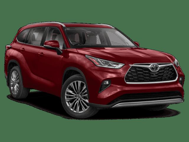 New 2022 Toyota Highlander Platinum