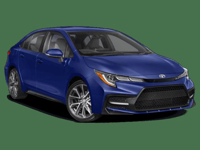 New 2022 Toyota Corolla SE