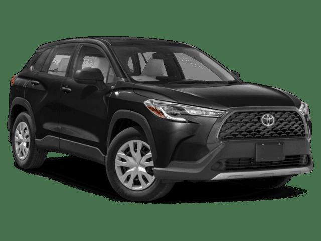New 2022 Toyota Corolla Cross CROSS L AWD