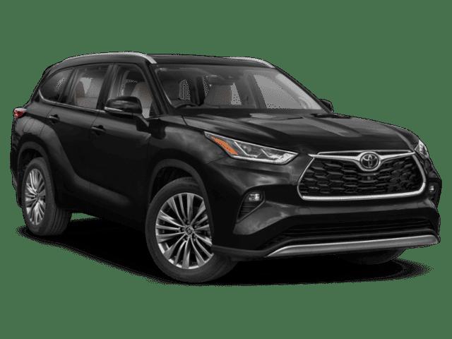 New 2021 Toyota Highlander Platinum