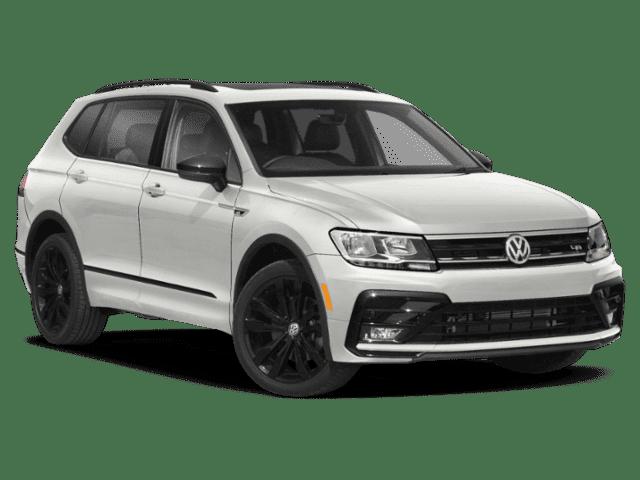 New 2021 Volkswagen Tiguan 2.0T SE R-Line Black