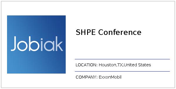 SHPE Conference job at ExxonMobil in Houston, TX - Jobiak