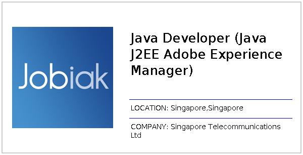 Java Developer (Java J2EE Adobe Experience Manager) job at