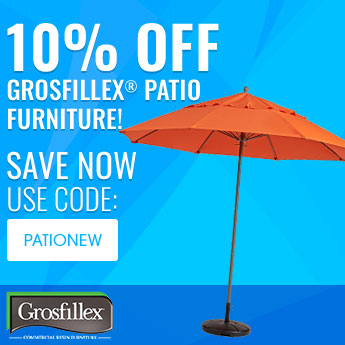 0% off Grosfillex® Patio Furniture! Use Code: PATIONEW