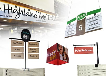 Grocery Store Signs