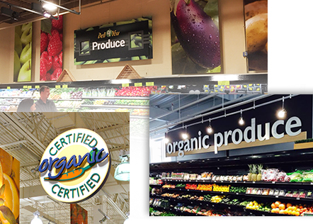 Produce Merchandising and Signs