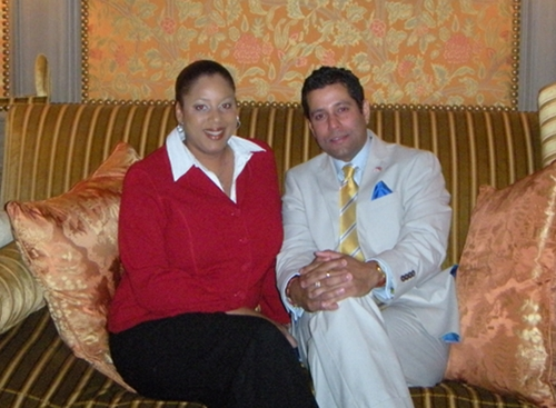 His Excellency Dr. Neil Parsan, and his wife, Mrs. Lucia Parsan