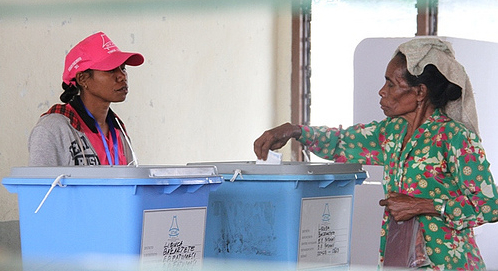 Women at the Ballot Box