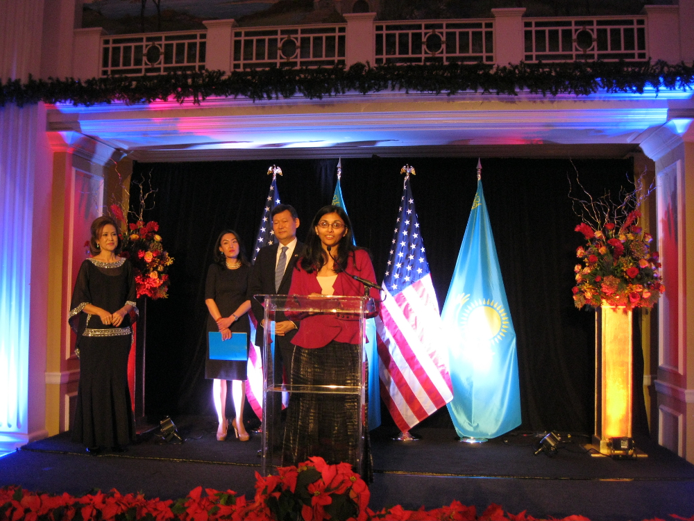 Asst Sec Nisha Biswal at Kazakhstan National Day
