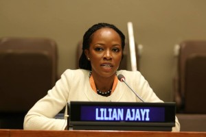 Lilian Ajayi UN Youth Assembly
