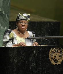 United Nations Conference on the World Financial and Economic Crisis and Its Impact on Development. Statement by Ms. Ngozi Okonjo-Iweala, former Finance Minister and Foreign Minister of Nigeria on behalf of the World Bank