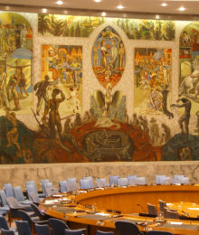 Security Council chamber United Nations Headquarters New York City