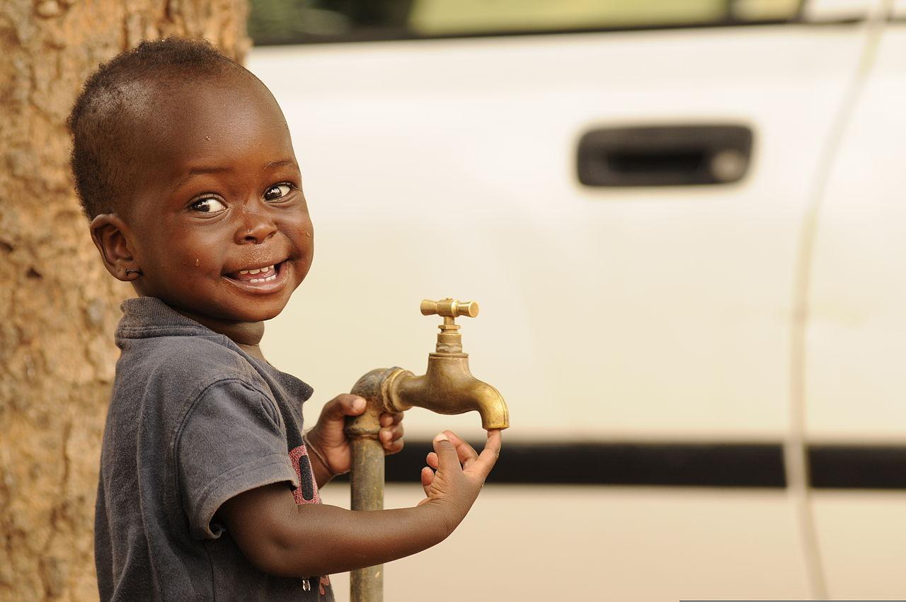 Drinking Water In Dakar Senegal