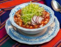 Pozole y Enchiladas Mela