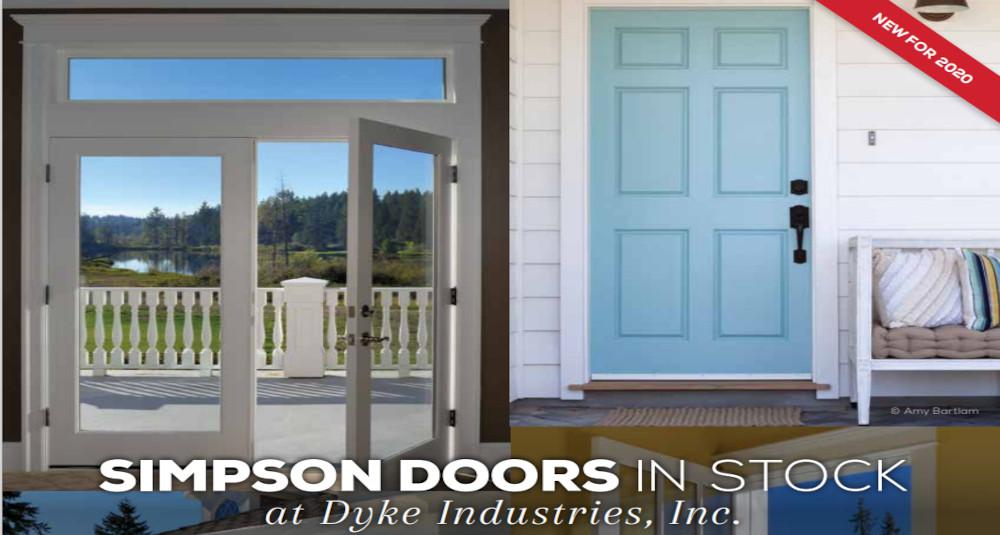 Simpson Doors in Stock