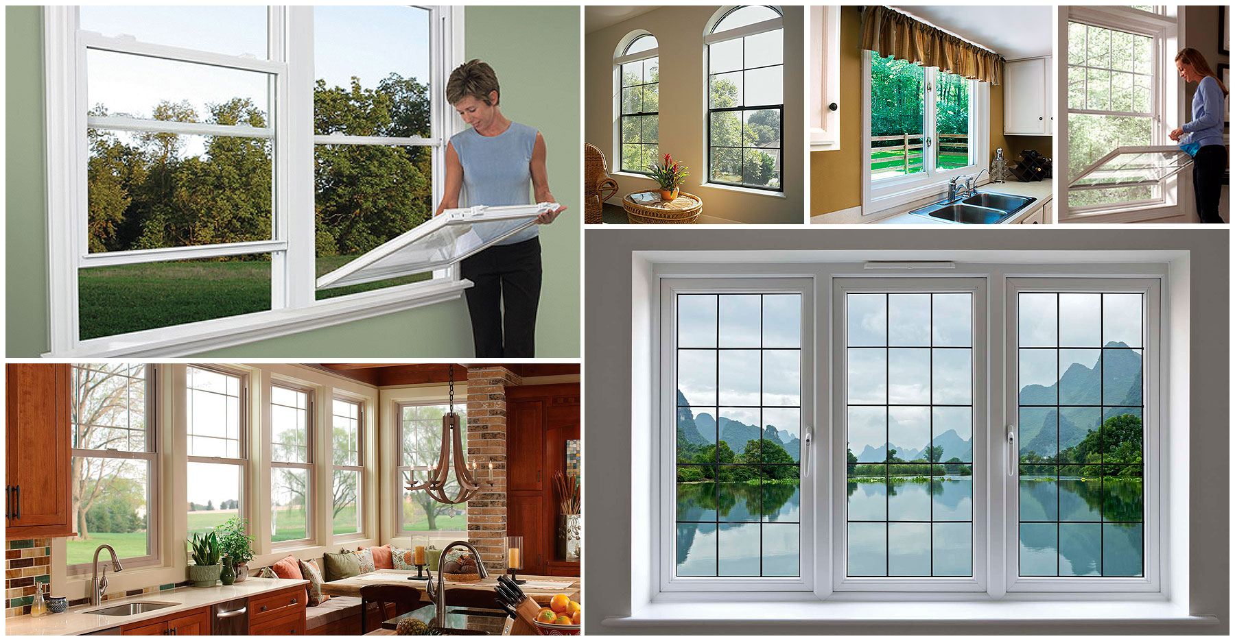 Vinyl Windows | Dyke Industries