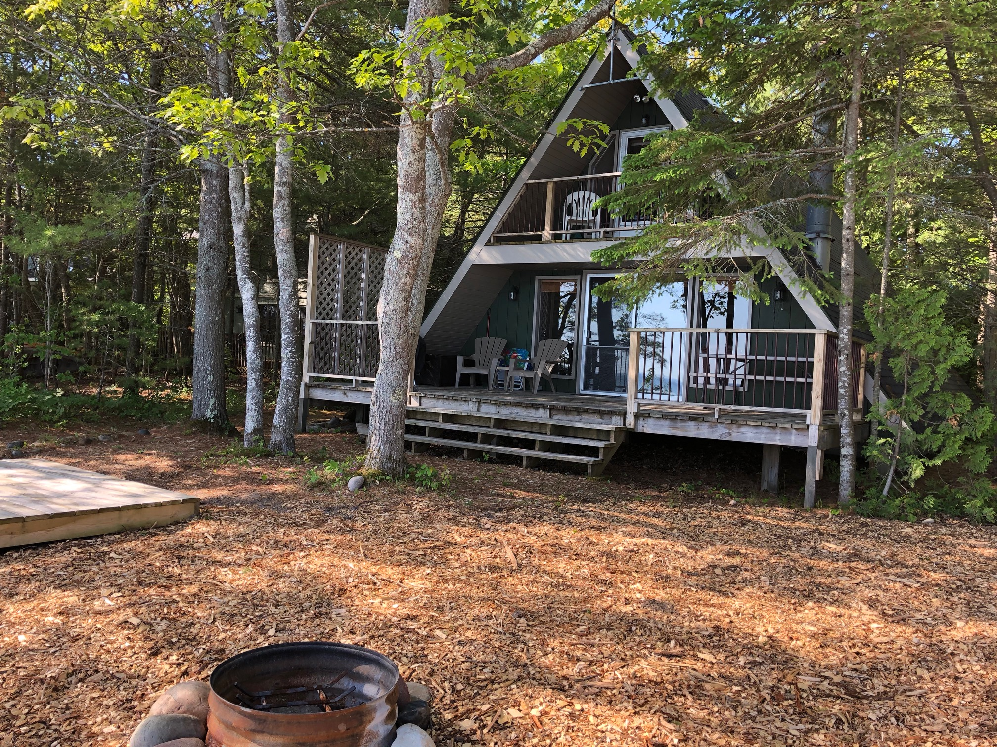Northern Lakes Property Management One Cozy Lake Huron A Frame ...