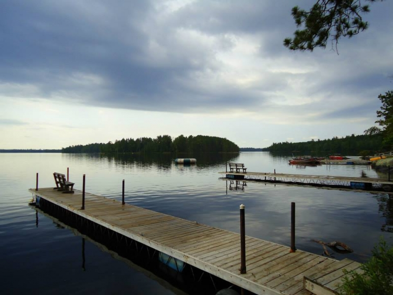Big Lake Wilderness Lodge: Reflections