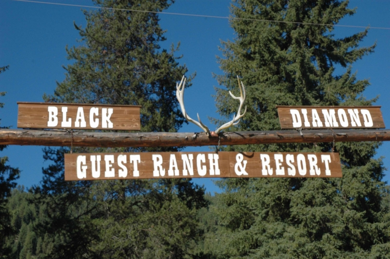 Black Diamond Guest Ranch: Cabin 4