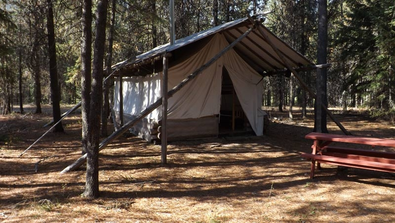 Black Diamond Guest Ranch: Two 14-by-16-foot Glamping Tents
