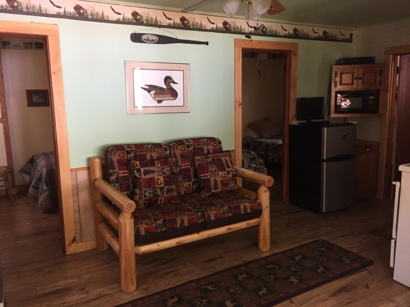 Journey's End Lodging: Haven Cottage