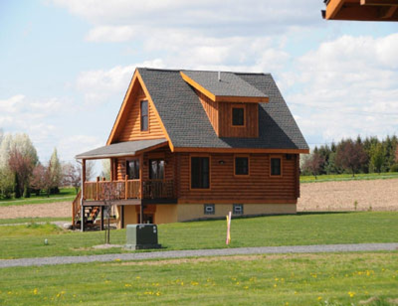 Cobtree Vacation Homes: Otisco Log Home
