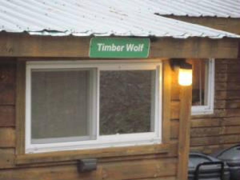 The Cabins at Lake Desolation: Timberwolf Lodge