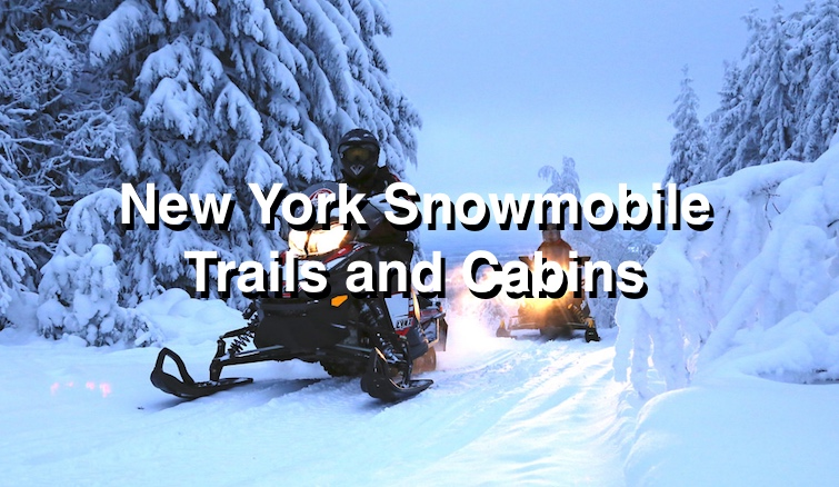 Cabins near Snowmobile Trails
