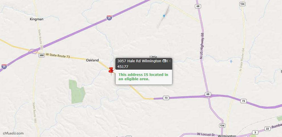 USDA Loan Eligiblity Maps From - Chester Twp, OH