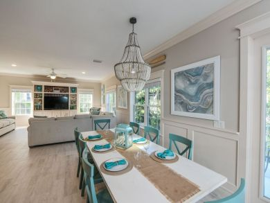 Large Dining and Living Areas