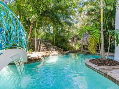 Private Tropical Lagoon Pool