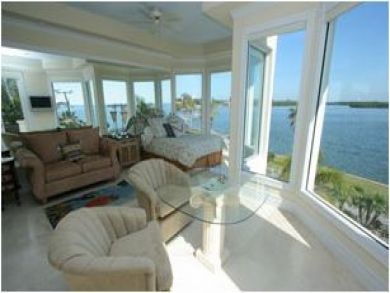 Panoramic Bay View from Master Bedroom