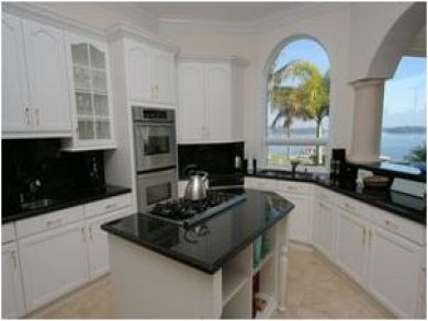 Spacious Kitchen with Beautiful View